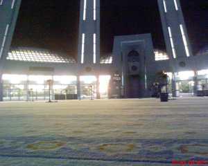 senja di masjid